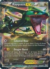 Pokemon BW Battle Arena Deck Dragons Exalted Rayquaza EX Ultra Rare Card 85/124