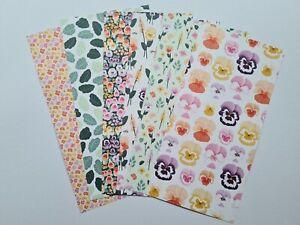 Stampin Up Designerpapier Stiefmütterchen