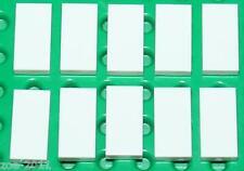 Lego 10x White Tile 1x2 NEW!!!