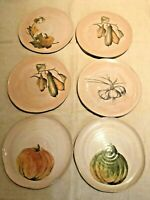 **NETAS** Made In Italy dipinto a mano 6  Large plates!