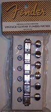 Genuine FENDER Vintage NICKEL STRAT/ TELE Tuners Telecaster Stratocaster '57 RI