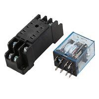 Hh52p Dc 12v Bobina Dpdt 8 Pin Rele' Di Potenza Elettromagnetico Dyf08a Bas F2F4
