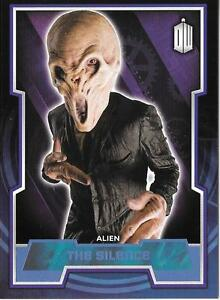 Dr Who Topps 2015 - Blue parallel base cards selection A