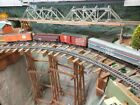 HO,OO,WALTHERS/ ATHEARN ? Bundle. 4x AMERICAN RAILROAD WAGONs FITTED WITH KADEES
