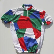 Maillot cycliste  vintage des années 70 - Taille M - Fabrication Française -