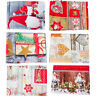 1P Printed Table Cloth Rectangle Xmas Decor Table Covers Washable Dining Cover