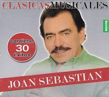 Joan Sebastian Clasicas Musicales 30 Exitos 2CD New Nuevo Sealed