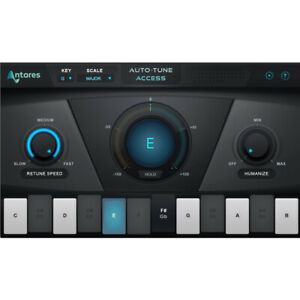 Antares Auto-Tune Access pitch correction plug in software download