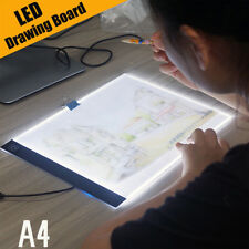 A4 LED Light Box Tracing Drawing Board Art Design Pad Copy Lightbox Day & Light