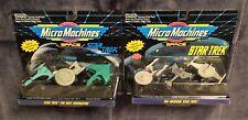 Micro Machines Star Trek (Original & The Next Generation) 2 Lot