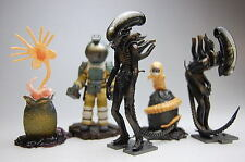 Kaiyodo Hot ALIEN Collection Capsule Q Characters AVP Toys 5 Figure