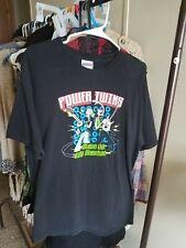 2004 Rare Steve Vai Billy Sheehan Power Twins Guitar Rock Tshirt, Patrick Morgan