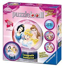 PUZZLE BALL PRINCIPESSE DISNEY LAMPADA NOTTURNA - 108 PEZZI 116546 RAVENSBURGER