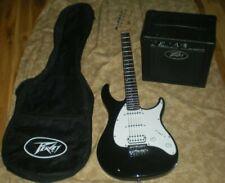 PEAVEY RAPTOR Plus Electric Guitar + AMP + soft gig bag,