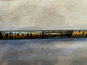 """G. Loomis IMX 5'4"""" Spinning Rod SJR641 Light Fast Action 6 Guides Lightly Used"""