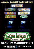 Arcade1up Galaga Backlit Marquee Kit for Arcade1up Cabinets with BONUS! – Green