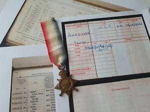 WW1 1914-15 Star to Driver Godding / Gooding, A.S.C