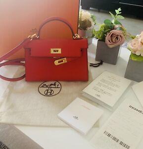 Hermes Kelly Mini Epsom Bag