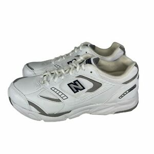New Balance Mens 659 Fit Walk Shoes White SL-2 Leather MW659WN Size US 8 D New