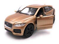 Modellino Auto Jaguar F-Pace SUV Oro Auto Scala 1:3 4-39 (Licenza)
