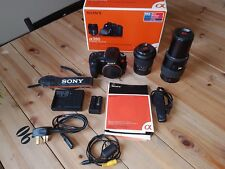 Sony Alpha a350 14.2MP Digital SLR Camera Kit + 2 Zoom Lenses + Remote Shutter