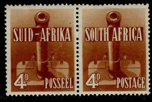 SOUTH AFRICA GVI SG92, 4d orange-brown, M MINT. Cat £22.