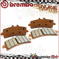 4 FRONT BRAKE PADS BREMBO GENUINE PARTS SINTERED 07BB3793 DUCATI PANIGALE 1299