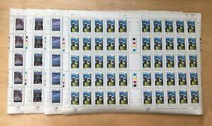 Botswana 1990 - Scott# 472-5 - London Telecommunication - Set of 4 Sheets  - MNH