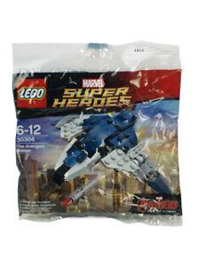 Lego The Avengers Age Of Ultron Quinjet Mini Set 30304 Marvel Sealed Polybag