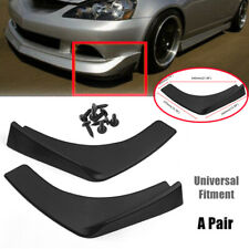 A Pair Universal Fit For Car Front Rear Bumper Lip Splitters Winglets Canards