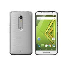 Cover para Motorola Moto X jugar y Double SIM, in silicone TPU transparente