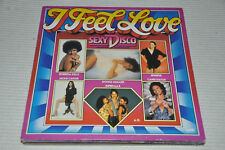VA Sampler - Sexy Disco - I feel Love - WEA 70er 70s - Album Vinyl LP