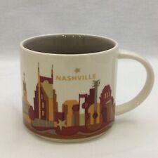 Starbucks Mug YOU ARE HERE 2012 14 fl oz NASHVILLE Cup