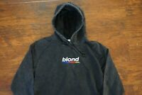 Blonde Hoodie- Mens Vintage Wash EMBROIDERED- FRANK OCEAN BLOND Merch Fleece