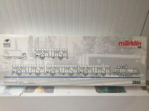 MARKLIN HO coffret train de marchandises DB réf 2890