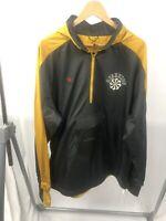 Nike Gyakusou x Undercover ½ Zip Hooded Jacket Running Yellow Sz L CD7107-274
