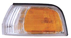 Parking Signal Side Marker Light for 92-93 Honda Accord Driver Left