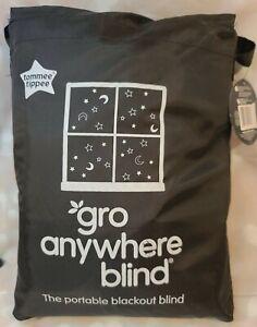 GRO COMPANY  GRO-ANYWHERE PORTABLE WINDOW BLACKOUT BLIND ADJUST BABY STAR & MOON