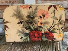 Vintage Floral Magazine Rack Pre-owned