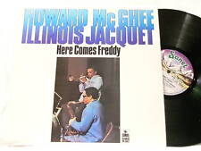 HOWARD McGHEE & ILLINOIS JACQUET Here Comes Freddy LP