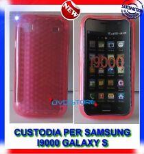 Custodia+Pellicola EXA ROSA per Samsung Galaxy S I9000