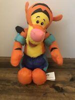 Disney Winnie the Pooh TIGGER Puffalump Plush Stuffed Toy Swimming Outfit