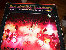 THE DOOBIE BROTHERS-WHAT WERE ONCE VICES ARE NOW HABITS-LP-NM-BLACK WATER