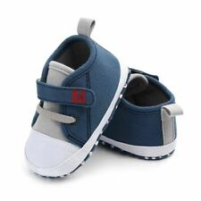 Newborn Baby Cute Boys Girls Canvas Letter First Walkers Soft Sole Shoes baby g