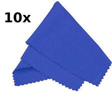 10 X Royal Blue De Microfibra gafas / gafas de sol Paños De Limpieza