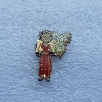 "Wisconsin Destination Imagination Trading Pin - ""Glitter Fairy"""