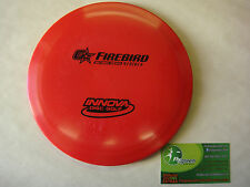 FRISBEE DISC GOLF INNOVA GSTAR FIREBIRD DISTANCE DRIVER 171g GREAT LOW SPEED RED
