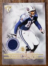 """New listing Thigpen/Thomas 2001 Titanium """"Double Sided Jersey"""" card #124"""