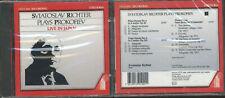 CD Sviatoslav Richter plays Prokofiev Live in Japan Vol. 1
