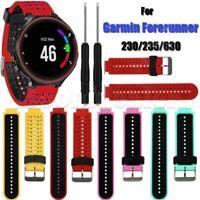 Sport Silikon Armband Strap Werkzeug für Garmin Forerunner 235 630 230 GPS Uhr